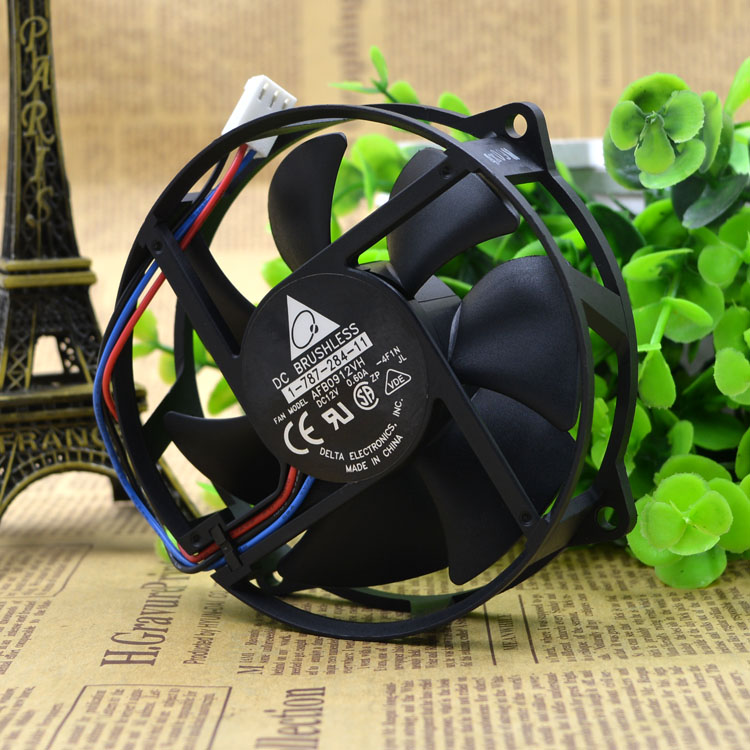 Free Delivery. 9225 AFB0912VH 12 v 0.60 A third line round computer desktop host CPU cooling fans
