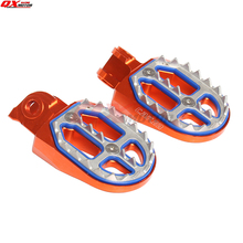 CNC Billet MX Foot Pegs Rests Pedals For 65 85125 250 300 450 525 KTM EXC SX SXF XCF SMR Motorcycle Motocross Enduro Supermoto billet mx motocross foot pegs footrests pedals for yamaha yz 85 125 250 x yzf 250 450 250x wrf 250 450 01 02 03 04 05 06 07 16