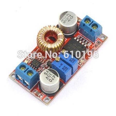 DC Buck Converter 5V-32V to 0.8V-30V 5A Constant Current Constant LED CC CV Driver lithium-ion Battery Charging Module