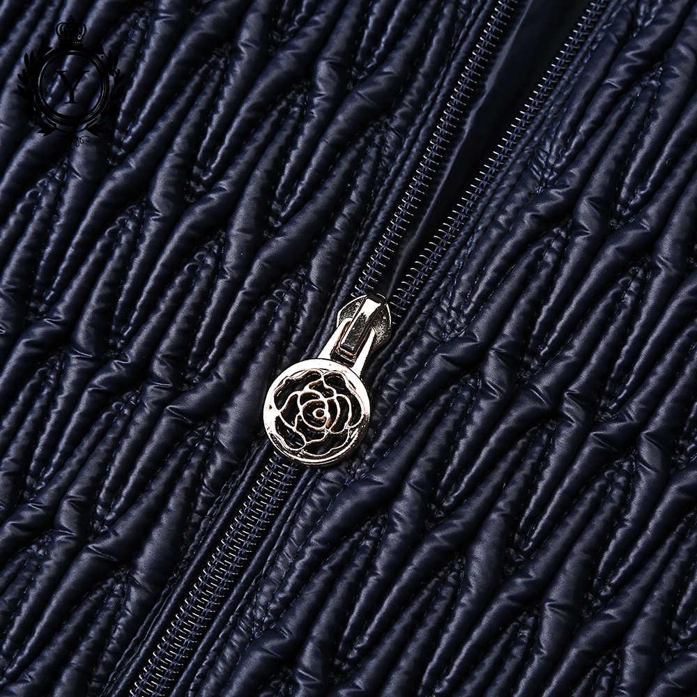 COUTUDI Новое поступление Горячая Женская куртка 2019 парки темно-синие Зимние стильные куртки ветровка из полиэстера высокого качества Женское пальто