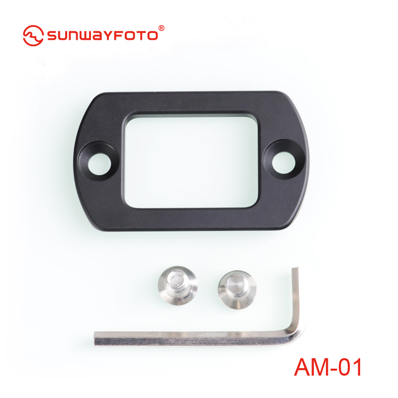 SUNWAYFOTO Quick Release Plate AM-01 Arca Mount Plate for DDP-64M DDP-64S
