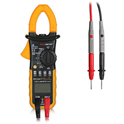 PEAKMETER MS2108A Digital Clamp Multimeter AC DC Voltage and Current / Resistance / Capacitance / Frequency / Duty Cycle Tester