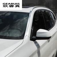 Автомобиль Стайлинг Авто сбоку юбка крышка крыши из нержавеющей стали Стикеры сбоку тела дверь украшения Накладка для BMW X3 G01 авто аксессуар