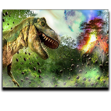 Diy Crafts Diamond Cross stitch painting of the Cartoon Embroidery 3d anime square mosaic paintings Icons Dinosaur