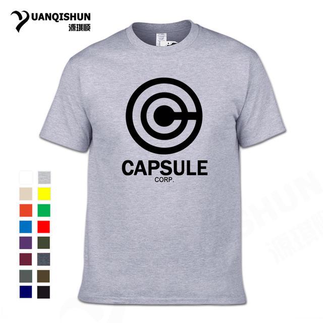Boutique T-shirt Anime DRAGON BALL Z men t shirt 2018 new summer 100% cotton 16 Colors men t-shirt fashion top tees for fans