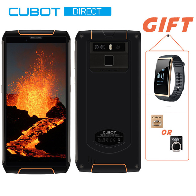 Cubot מלך קונג 3 IP68 עמיד למים RuggedPhone NFC 6000 mAh גדול סוללה אנדרואיד 8.1 4 GB + 64 GB סוג -C FastCharge OctaCore KingKong 3