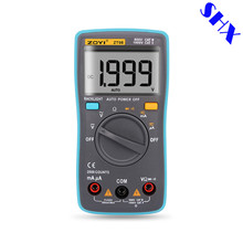 ZT98 Digital Automatic Range Multimeter 2000 counts Backlight AC/DC Ammeter voltage meter Voltmeter Ohm Portable Meter
