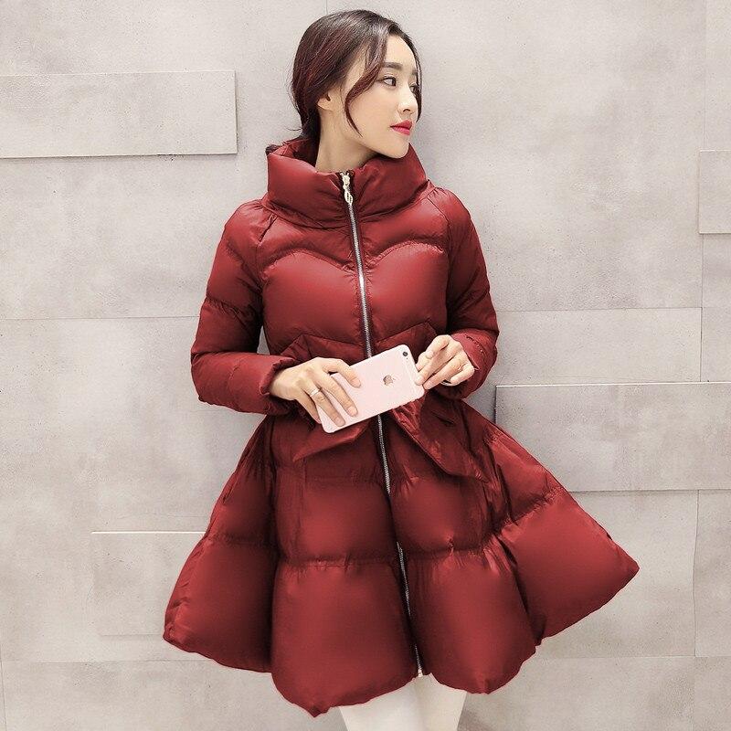 Женское зимнее пальто, теплая хлопковая стеганая куртка, верхняя одежда высокого качества, R853, 2019