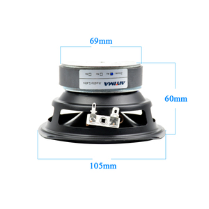 Image 3 - AIYIMA 1Pcs Audio Woofer Speakers 4Ohm 30W 4Inch Midrange Bass External Magnetic Speaker Car Audio Home Outdoor Loudspeakers