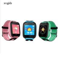 Xvgjdz S4 Smart GPS Touchscreen Kinderen Telefoon Smart horloge SOS Locatie Tracker Apparaat Camera Voor Kid Baby Jongen Meisje