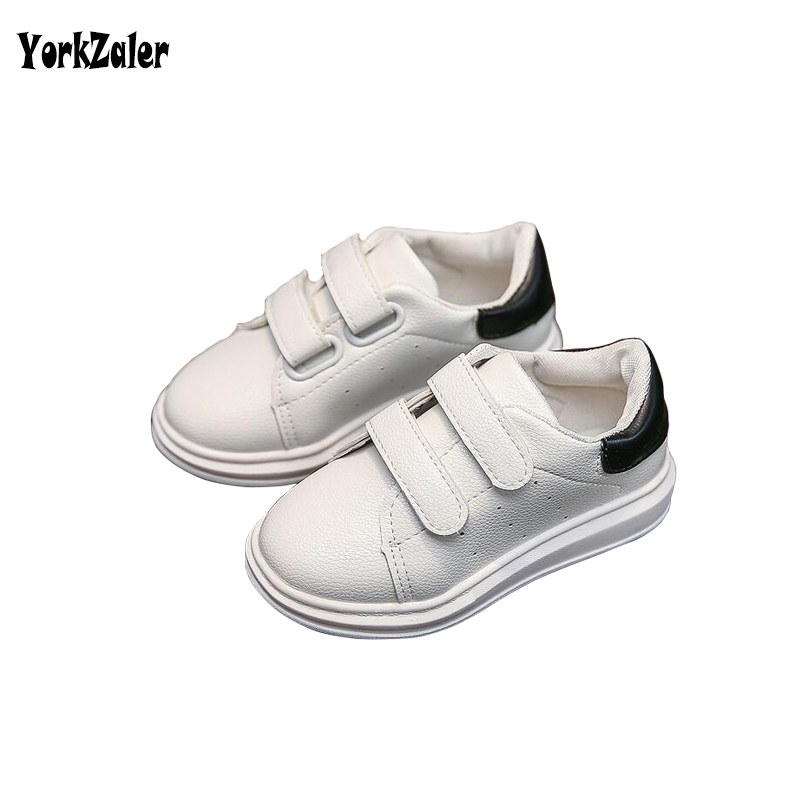 Yorkzaler Children Shoes 2017 Autumn Kids Boy Girl Shoes Comfortabe White Sneakers Toddler Baby School Shoe Euro Size 21-36