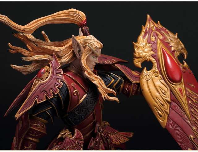 BLOOD ELF PALADIN: QUIN'THALAN SUNFIRE wow Action Figure Collectable Model Toy 2
