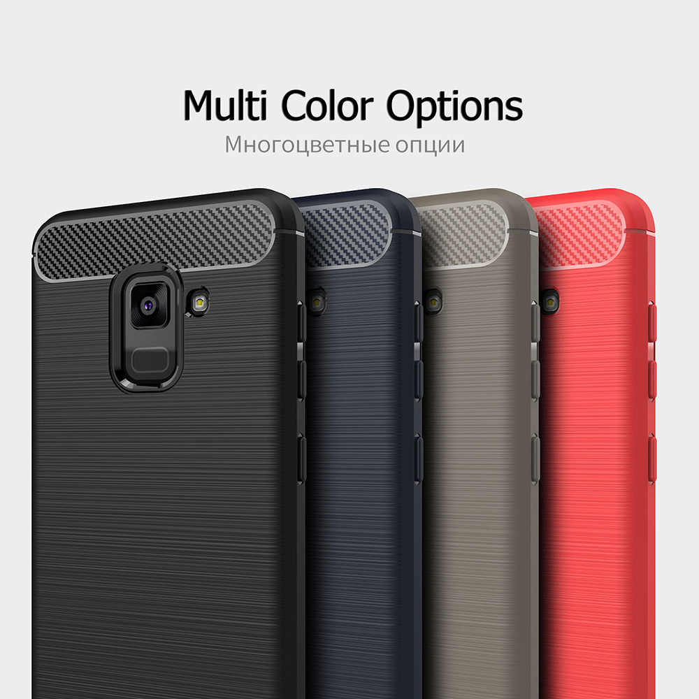 Silicone Cases For Samsung Galaxy A6 A7 A8 A9 A6S A3 A5 Plus Star 2018 2017  Note 9 8 7 FE C5 C7 2016 C10 Soft Covers A3200 A320F