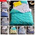 Детский хлопковый комплект постельного белья из мягкой кожи  3/4 предмета  Комплект постельного белья  1 2 м  1 35 м  1 5 м  1 8 м  2 м