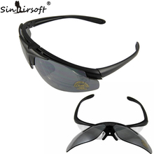 Sinairsoft C1 Desert SunGlasses Outdoor Sports Sun glasses Eyewear Tactical eye Protective UV400 Glasses