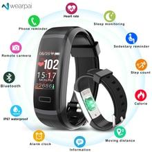 Wearpai GT101 Smart bracelet Heart rate monitor band Fitness tracker women men Sport Smart Wristband Waterproof for ios android heart rate waterproof smart wristband bracelet d21 fitness tracker swim band sport heart rate for android ios