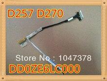Оригинальный экран кабель для acer one d270 d257 ze6 lt28 series экран ноутбука жк кабель p/n: dd0ze6lc000