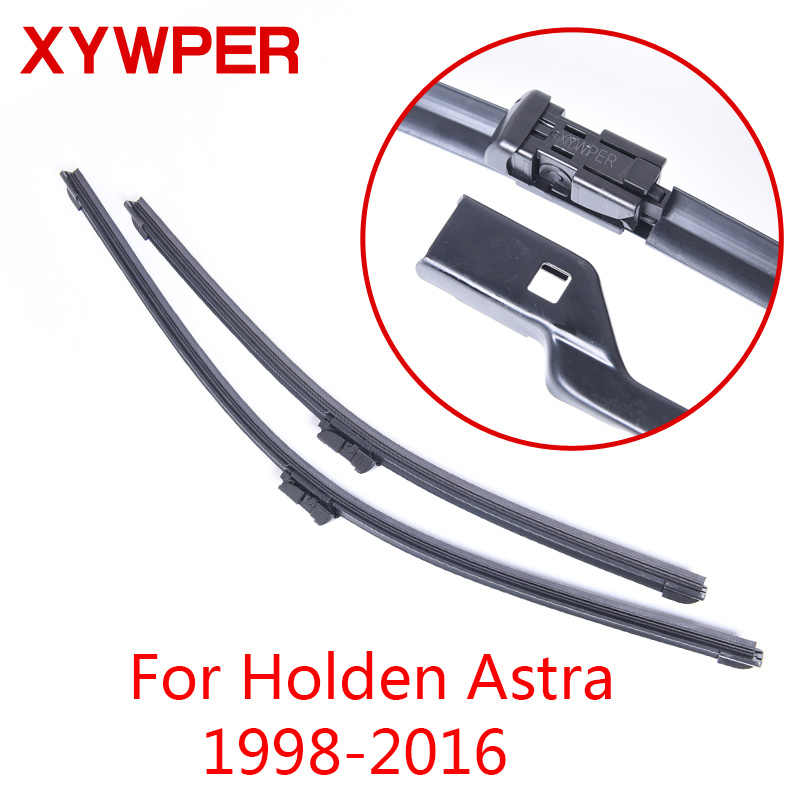 XYWPER Wiper Blades for Holden Astra TS AH PJ 1998 1999 2000 2001 2002 2003 2016 Car Accessories Soft Rubber Windshield Wipers