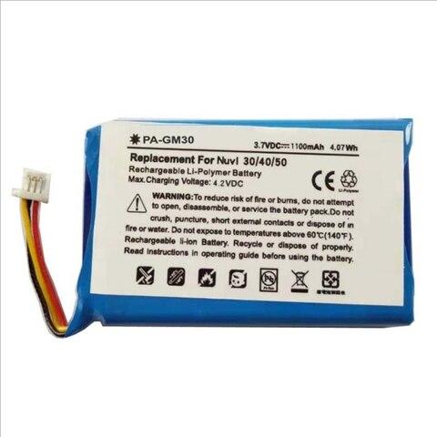 Bateria para Garmin Lote Ttvxo 1100 Mah Nuvi 30 40 40lm 50 50lm Bateria 361-00035 -00 01 361-00035-361-00035-11 3 Pçs –