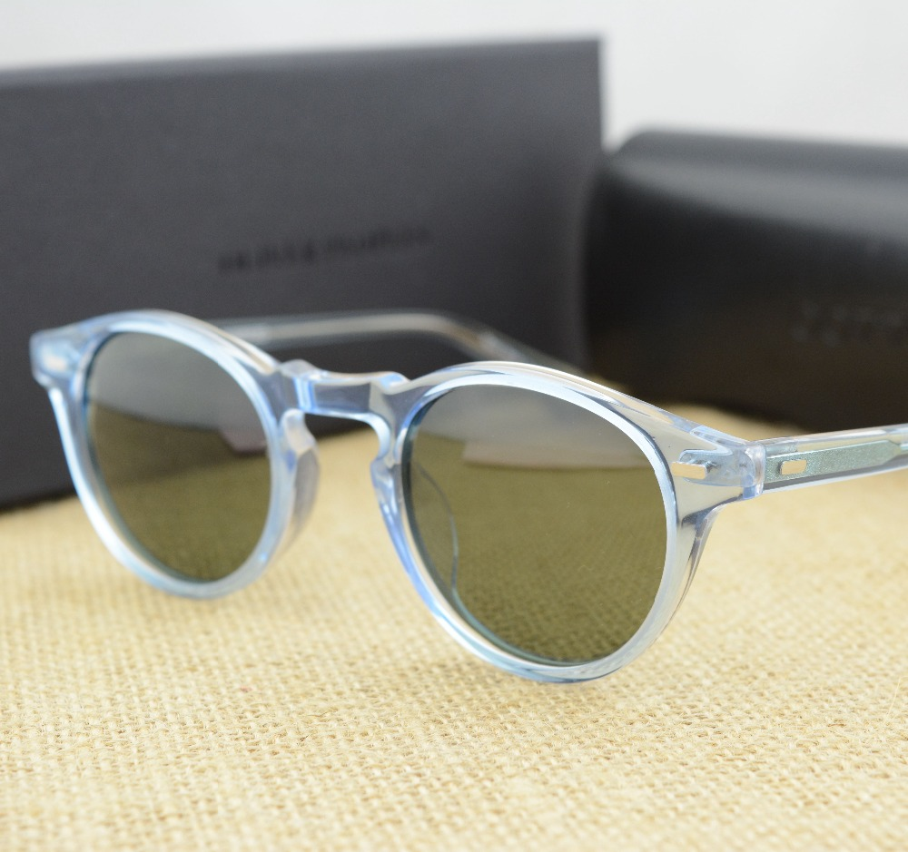 7849b188c0 Oliver peoples ov5186 sunglasses optical wide glasses frame eyeglasses  frame vintage sunglasses with polarized lens-in Sunglasses from Men s  Clothing   ...