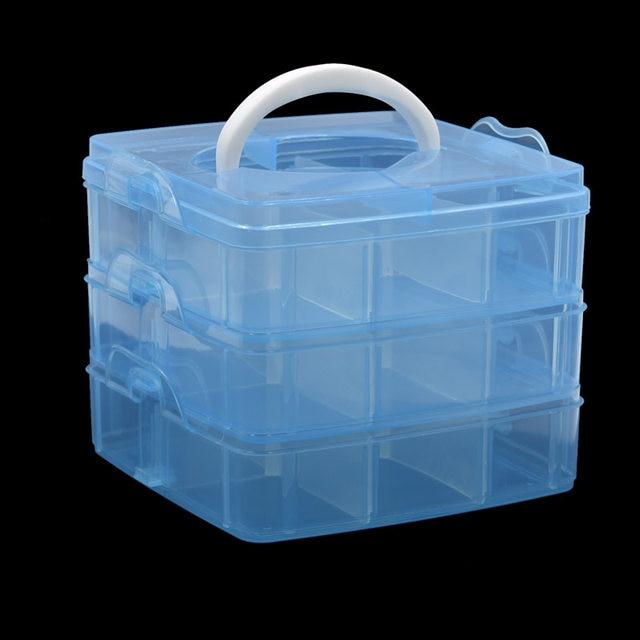 Online Shop 1pcs Electrician 3 Layers Detachable Hand Tool Box