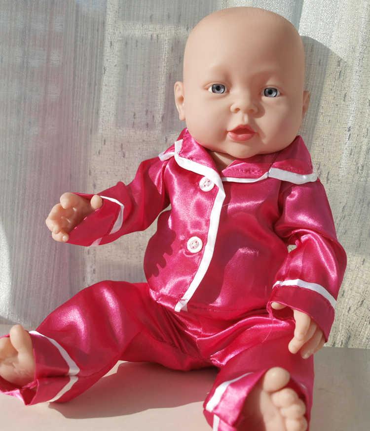 Ropa de muñeca bebé de 41CM, muñecas Reborn de Vinilo Suave de silicona, juguete para recién nacido, regalo de cumpleaños para niños y niñas