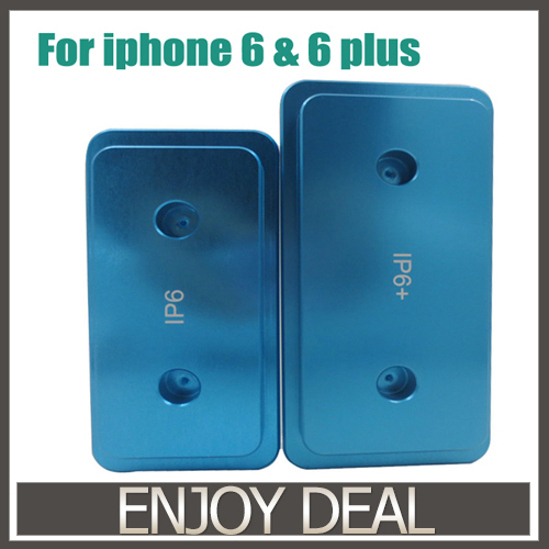 Metal 3D Sublimation Mold Printed Mould Heat Press Phone Case Mold For Iphone 6 4.7 Inch and Plus 5.5 Inch  цены
