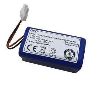 Image 5 - 14.8V 2800mAh robot Vacuum Cleaner Battery Pack replacement for chuwi ilife v7 V7S Pro Robotic Sweeper 1PCS