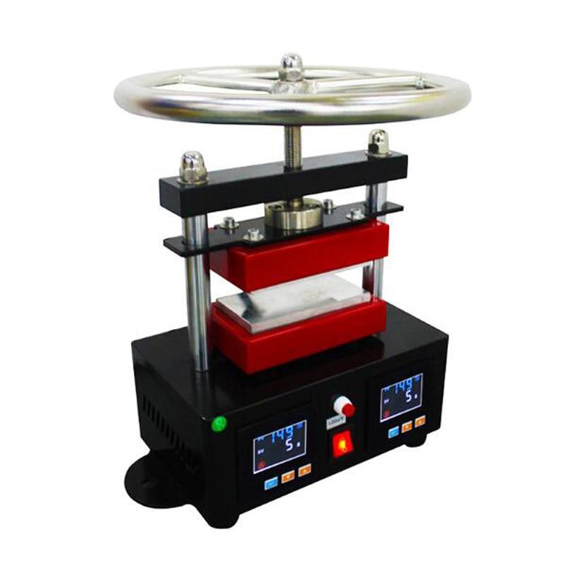 Heat Transfer Pressing Machine Dual Heating Plates Oil Extractor Rosin Heat Press Machine Heat Rosin Press CK220