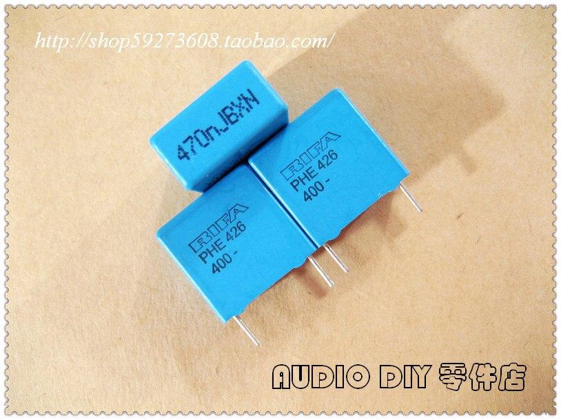 2019 Hot Sale 10pcs/30pcs RIFA PHE426 Series 0.47uF/400V 5% MKP Film Capacitor (470nF 474) Free Shipping