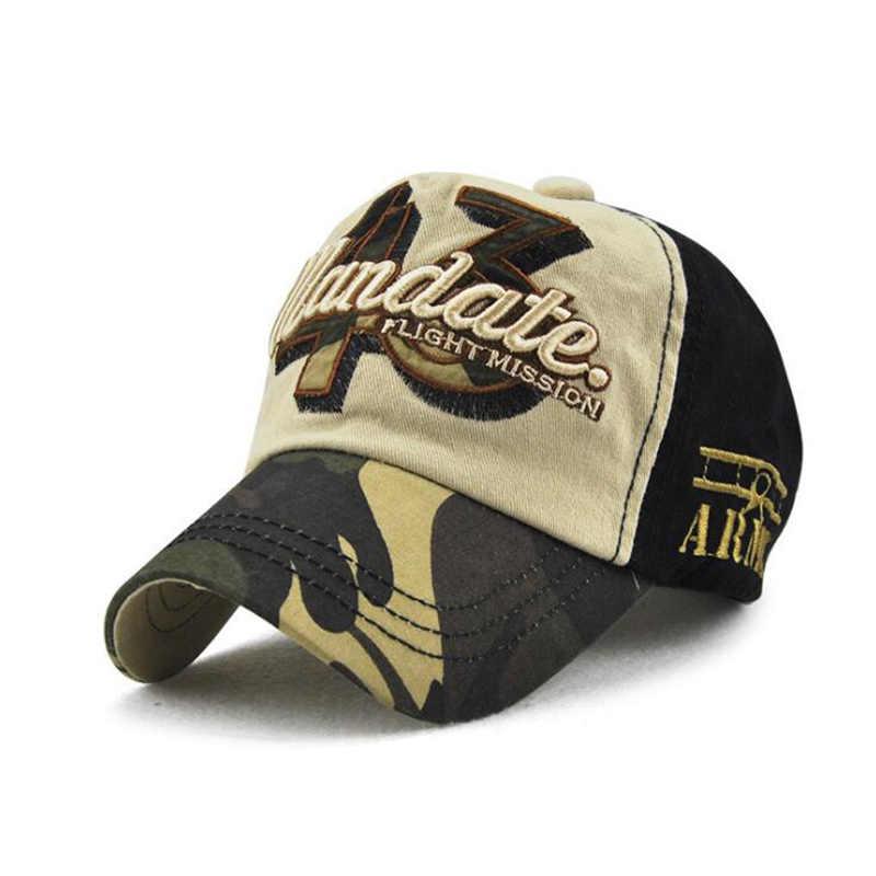 New 2018 Spring Kids Boys Cotton Baseball Caps Adjustable Size Children s  Outdoor Camouflage Bone Snapback Hats 0945598a0cda