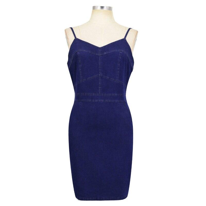 MUXU backless patchwork vestidos jurken fashion sukienka suspender dress short woman clothes women clothing denim dress summer in Dresses from Women 39 s Clothing