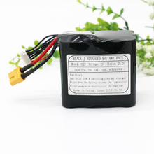 KLUOSI UAV Rechargeable Li-ion Battery 22.2V/25.2V 24V7Ah 6S2P Use Single Cell NCR18650GA Combination Suitable for Various Drone