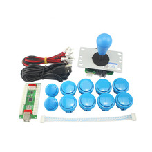 Zero Delay DIY PC arcade kits for Mame Fighting Games illuminated Joystick style 5V led push butto
