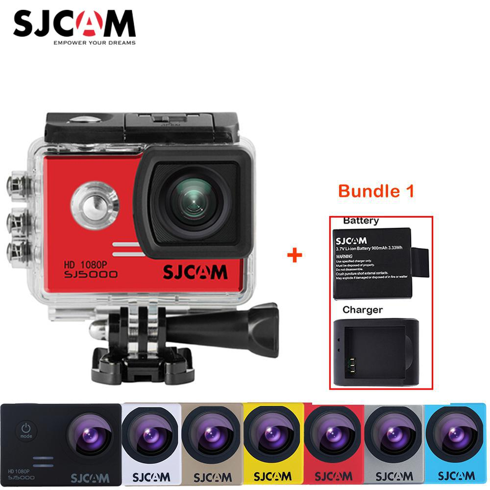 100% Original SJCAM SJ5000 Outdoor Action Sports Camera 30M Waterproof Underwater Sj 5000 Cam DV With a Battery and a charger средство чистящее domestos свежесть атлантики универс 24час