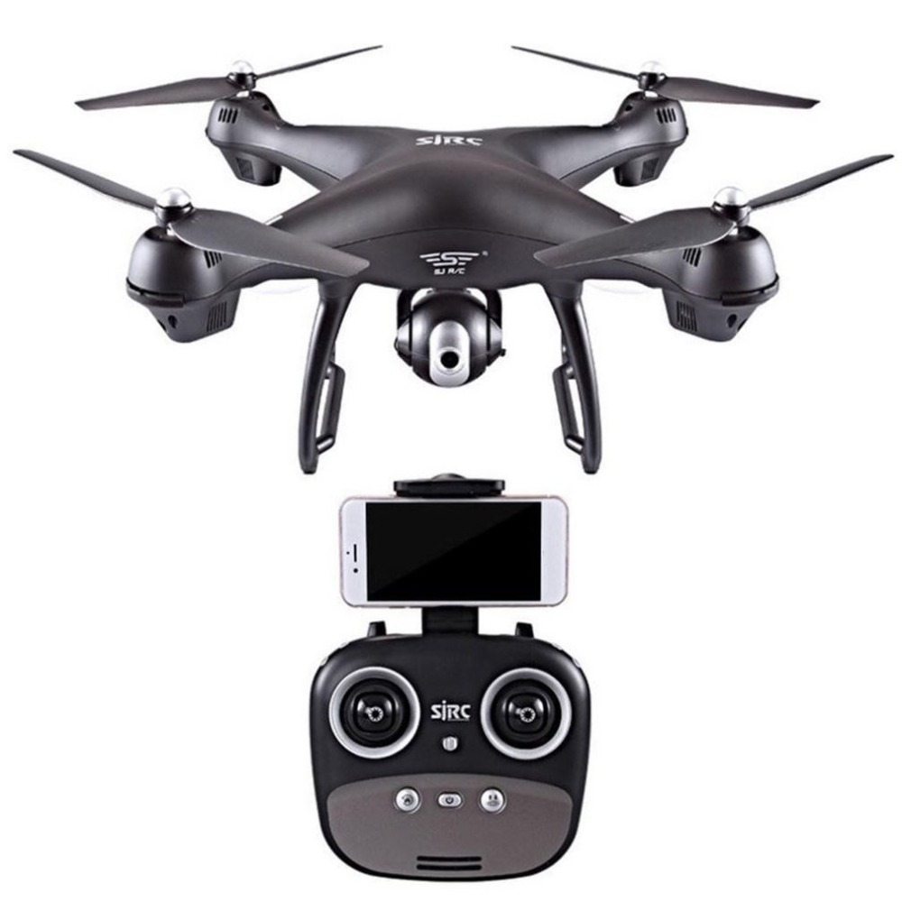 S70W HD Caméra drone WiFi/FPV RC 90 Degrés Grand Angle Double GPS RC Quadcopter Hélicoptère 720/1080 Professionnel 2019