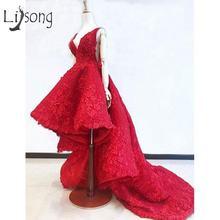 Женское вечернее платье с цветочной вышивкой abiye красное кружевное