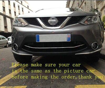 Garniture de couverture de Streamer de coffre de porte arrière de Chrome d'abs pour Nissan Qashqai 2014-2016 - 3