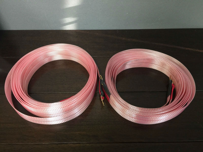 Free shipping PAIR NORDOST HEIMDALL NORSE 2 SPADE 6 METER SPEAKER CABLES цены онлайн