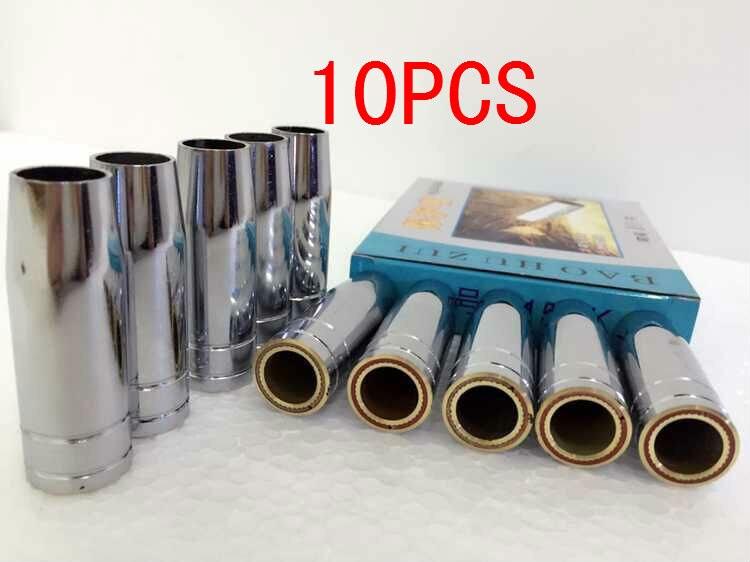 MB15 MIG Schweißen von konische Düse 10 stücke schutzgasdüse DB005