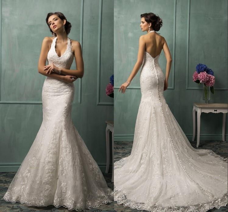 Halter Top Wedding Gowns Reviews - Online Shopping Halter Top ...