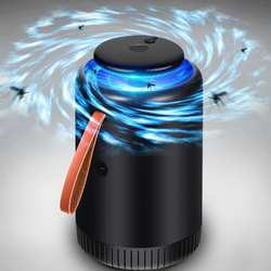 Бытовых электрических LED фотокаталитический Anti Mosquito Убийца лампа мух ошибки борьбы с вредителями комаров 210x130 мм