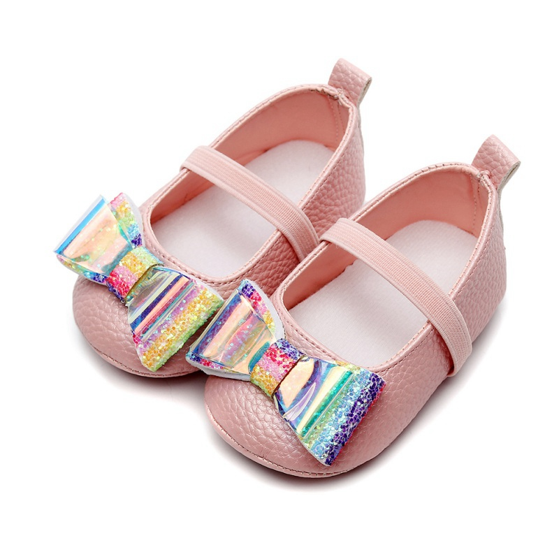 New Newborn Toddler Baby Girls Flower Unicorn Shoes Leather PU Shoes Soft Sole Crib Shoes Spring Autumn First Walkers 0-18M