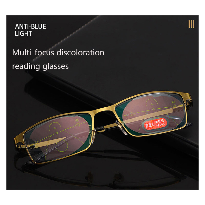 New Transition Photochromic Reading Glasses Men Women HD Lens Spectacles Near Far Smart With Diopters Presbyopia Eyewear Unisex in Women 39 s Reading Glasses from Apparel Accessories