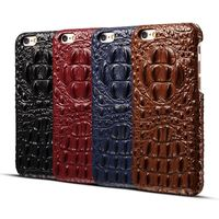 Real leather luxurious 3D crocodile quality case design for iPhone X 6 6PLUS 7 7PLUS 8 8PLUS Deluxe quality rear cover