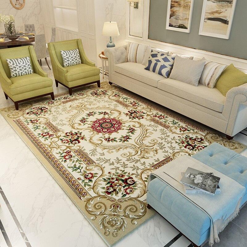 Style Palace salon tapis pour décor à la maison chambre chevet épaissir thé Table tapis canapé tapis 80*150 cm tapis de sol doux paillasson - 3