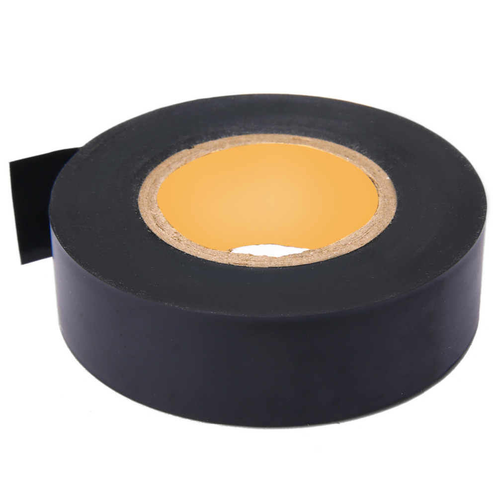 1 Roll Black PVC Electrical Tapes Flame Retardent Insulation Adhesive Tape DIY Electrical Tools 17mmx25m