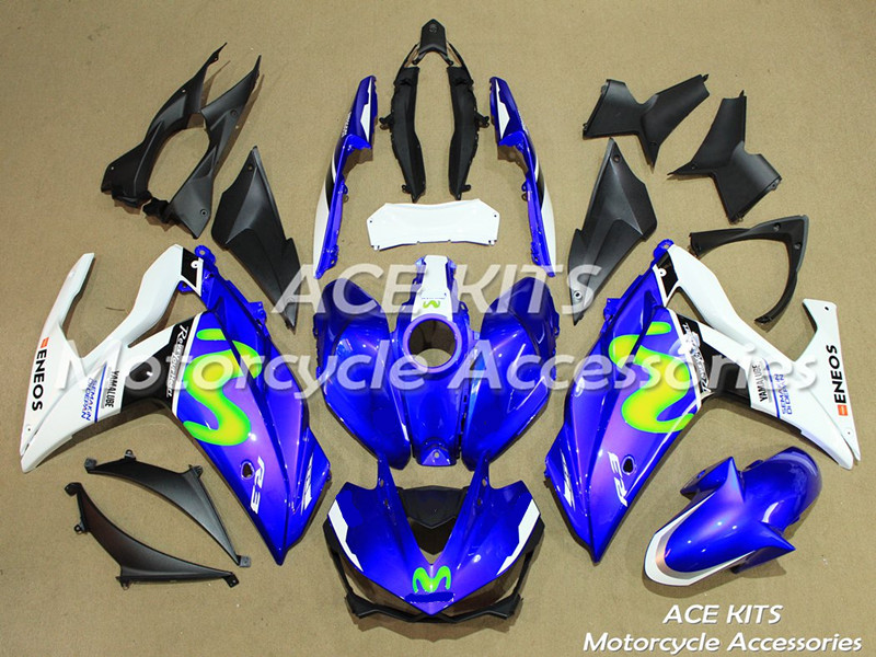 New ABS motorcycle Fairing For Yamaha R25 R3 2015 2016 2017  Injection Bodywor All sorts of color  No.122New ABS motorcycle Fairing For Yamaha R25 R3 2015 2016 2017  Injection Bodywor All sorts of color  No.122