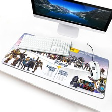 New Arrival Locking Edge Rubber Mice Mat PC Computer Laptop Gaming Mouse Pad Play Mousepad Overwatch