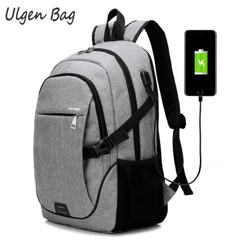 2017 External USB Charge Men Male Canvas Backpack College Student School Backpack Bags for Teenagers Vintage Mochila Casual Ruck 2017 fashion canvas men backpack casual travel backpack teenagers casual women laptop backpacks college student school bags